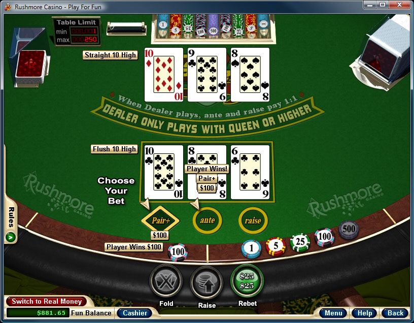 How You Can Play Blackjack Plus 3 Card Poker